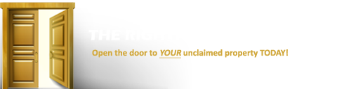Rightful Owner Search Unclaimed Money and Property Logo